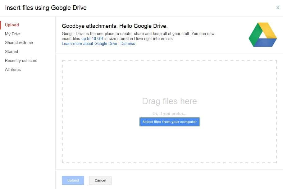 how to delete files of certain size on google drive