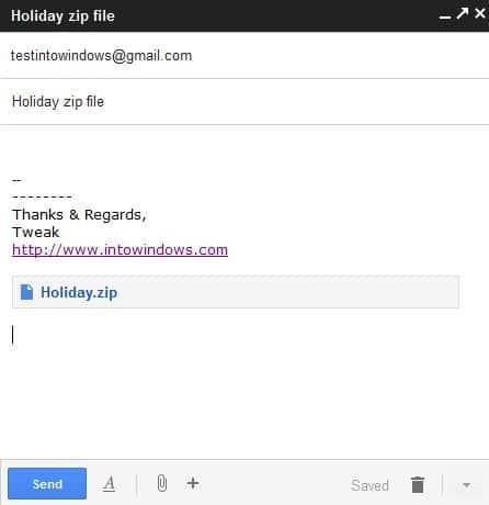 Send Large Files Via Gmail Step5