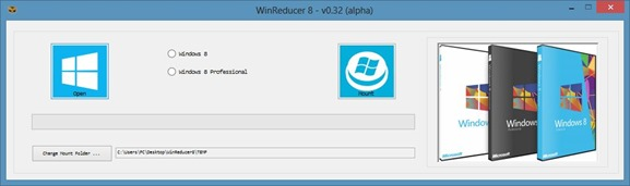 WinReducer8 RT7Lite for Windows 8