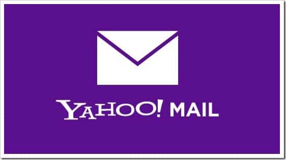 Yahoo! Mail app for Windows 8