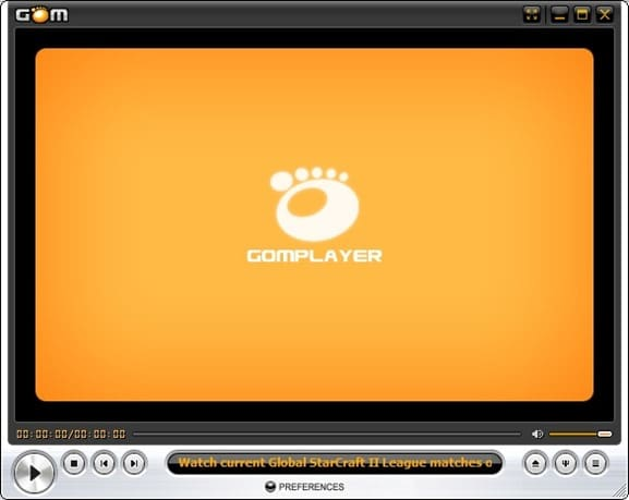 GOM Player for Windows 8