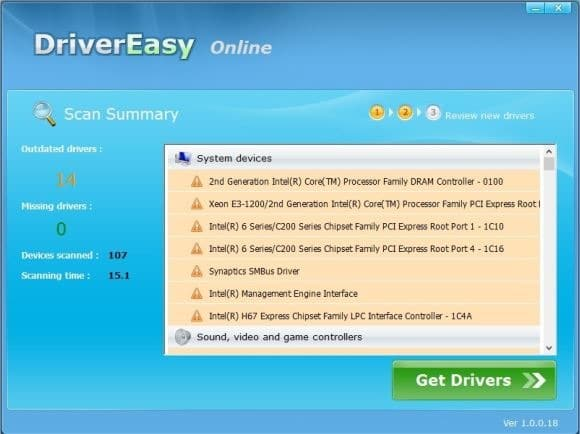 Scan PC Online for drivers picture4