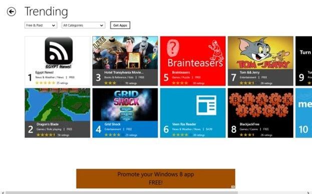 App Stars App Finder for Windows 8 Picture2
