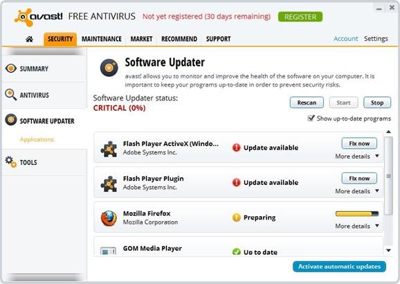 Avast Antivirus Download for Windows 8