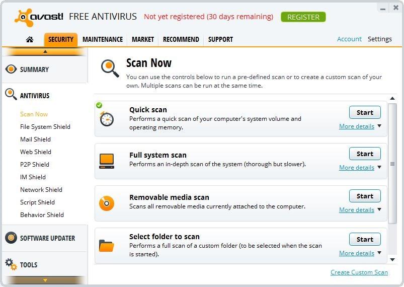 antivirus for windows 8 free download