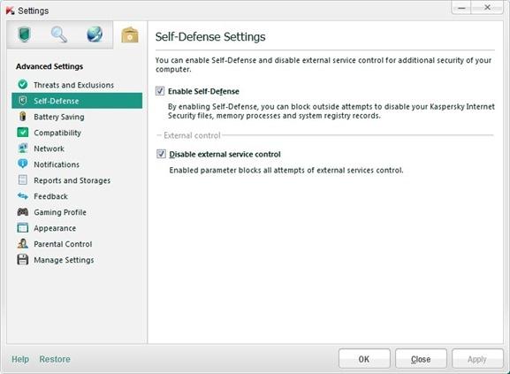Delete Kaspersky Temporary Files step11
