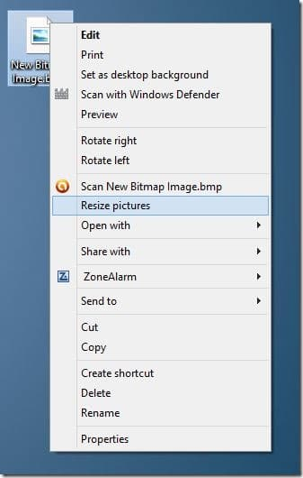 Image Resizer for Windows 7
