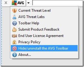AVG Toolbar Windows
