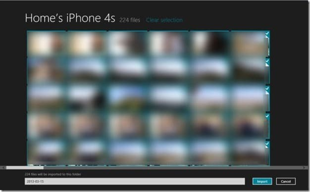 Import iPhone Photos to Windows Step3