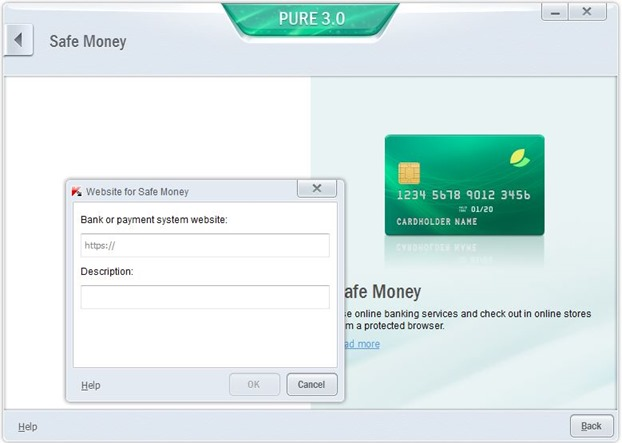 Kaspersky PURE 3.0 for Windows Picture1
