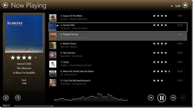 MediaMonkey app for Windows 8 Picture4