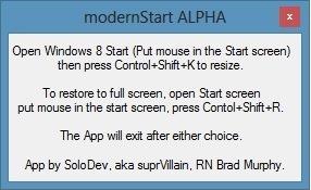 ModernStart