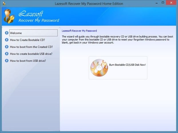 Recover Windows Password From Unbootable Drive Step2