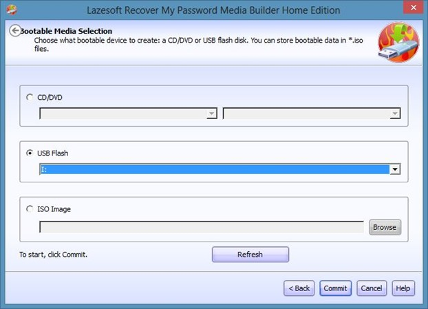 Recover Windows Password From Unbootable Drive Step3