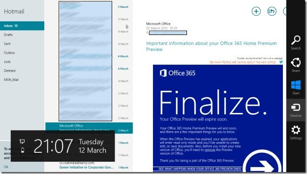Take Print In Windows 8 Mail App