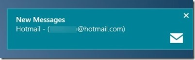 Turn On Email Notification In Windows 8 Step1