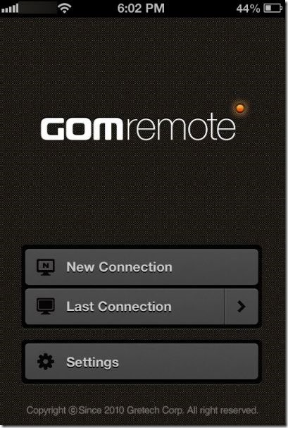 Control GOM Media Player from Phone Picture3