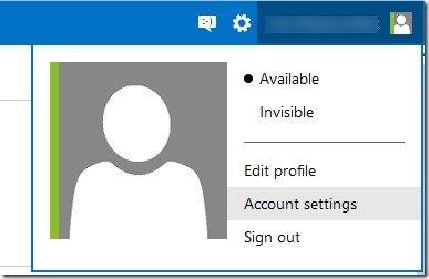 Enable two step verification for Microsoft account Picture1