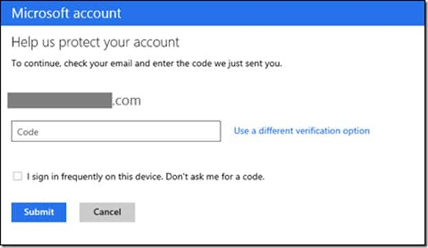 Enable two step verification for Microsoft account Picture5