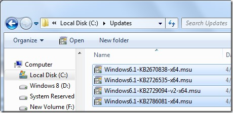 Integrate Internet Explorer 10 into Windows 7 Step2