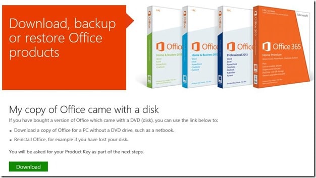 Lost Office cd, how to install Office without CD Picture5