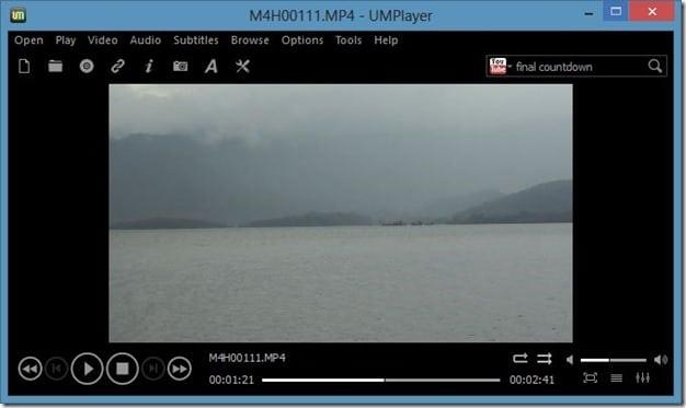 UM Player for Windows