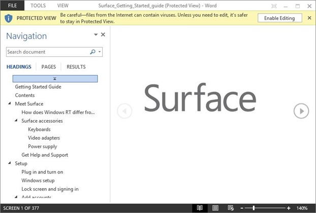 Edit PDF in Office 2013 Picture3