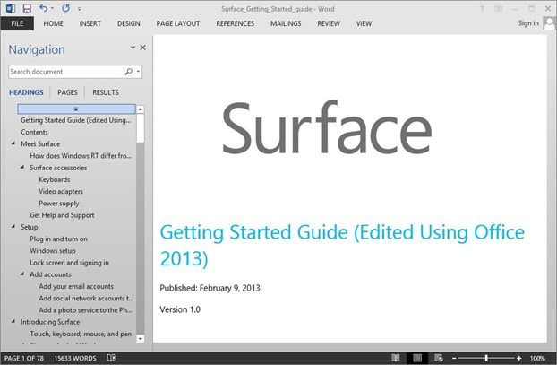 Edit PDF in Office 2013 Picture4