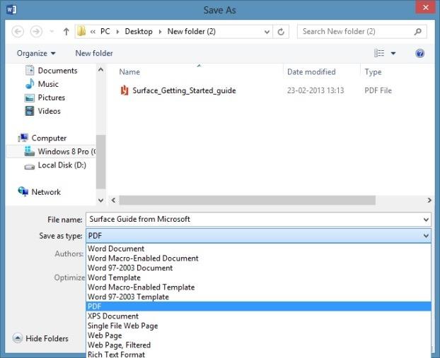 Edit Pdf In Word >> How To Edit Pdf Files In Office Word 2013