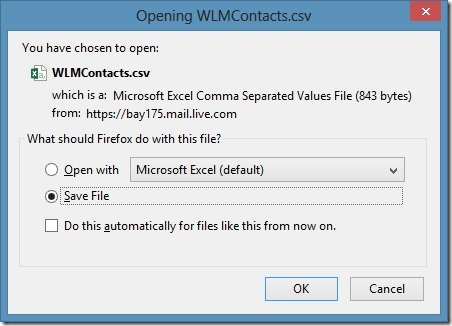Import Outlook.com Contacts To Gmail Step14