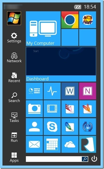 Start Menu Reviver for touch screen Picture3