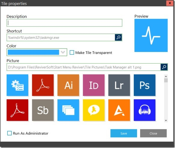 Start Menu Reviver for touch screen Picture5
