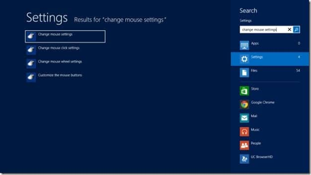 Two Finger Scrolling In Windows 8 Step1