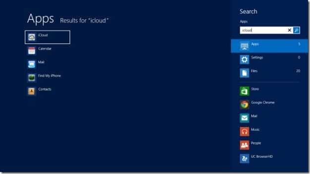 use icloud on Windows