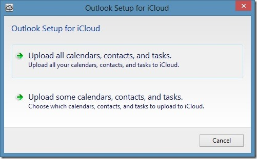 use icloud on Windows step6
