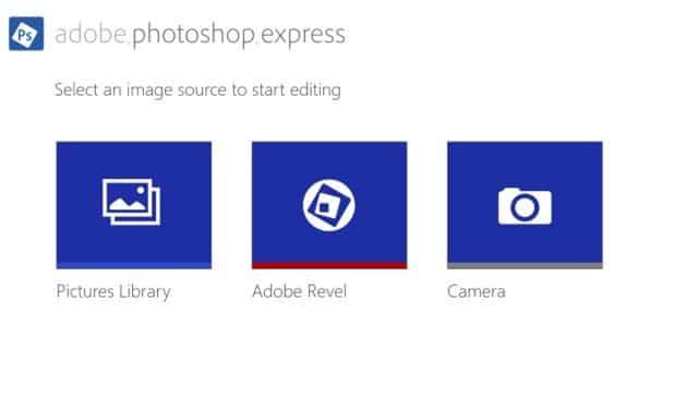 Adobe Photoshop Express for Windows 8