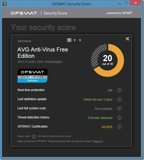 Check Your PC Security Status