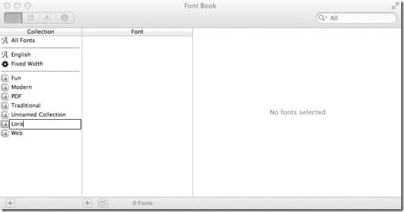 Google Font On Mac Picture3