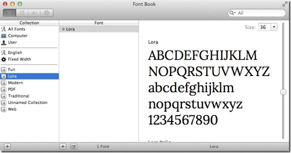 Google Font On Mac Picture4