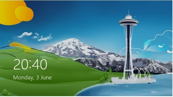 Lock Screen Customizer Windows 8