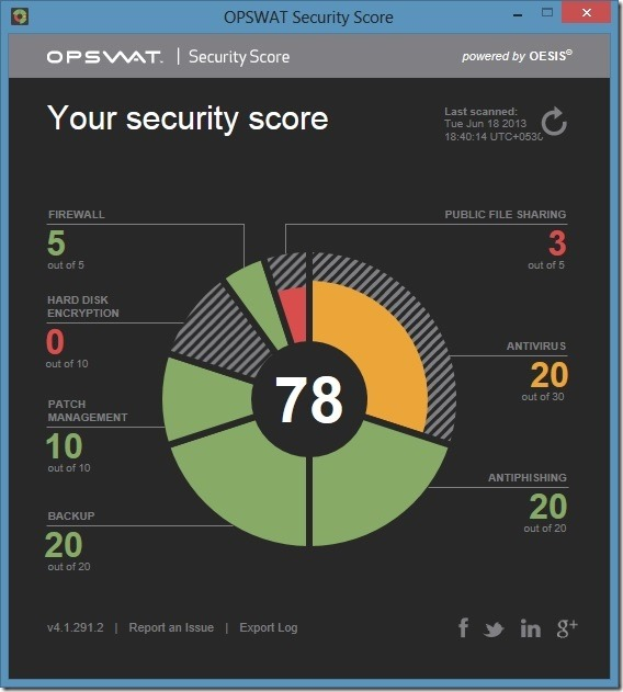 OPSWAT Security Check