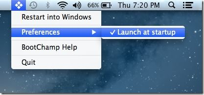 Reboot Into Windows Quickly From Mac OS X