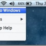 How To Quickly Restart Into Windows From Mac OS X