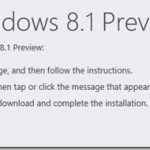 How To Upgrade Windows 8 To Windows 8.1 Preview