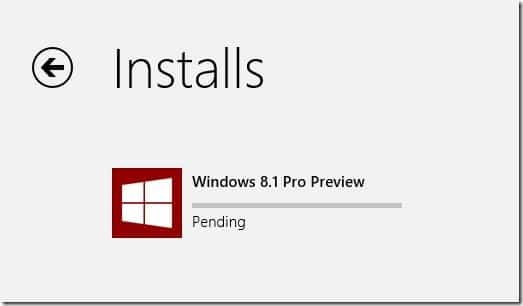 Upgrade Windows 8 to Windows 8.1 Preview Step11