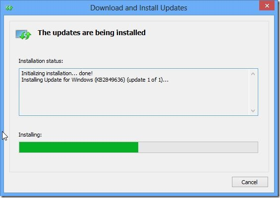 Upgrade Windows 8 to Windows 8.1 Preview Step3