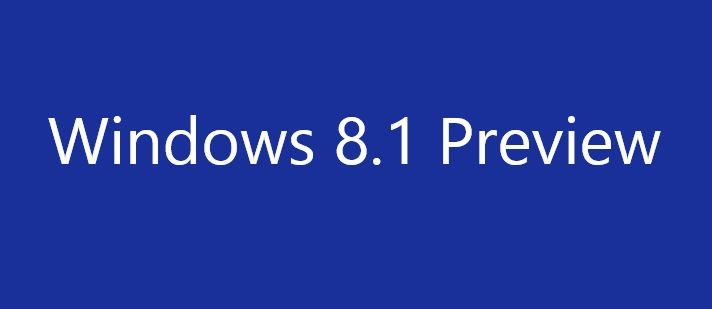 Download Windows 8.1 Preview ISO File