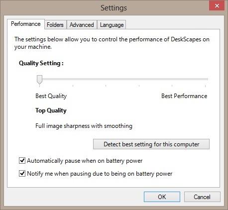 live wallpaper and dreamscene in Windows 8 picture1