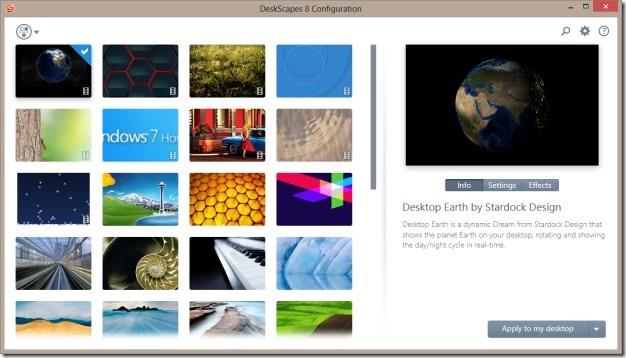 live wallpaper and dreamscene in Windows 8