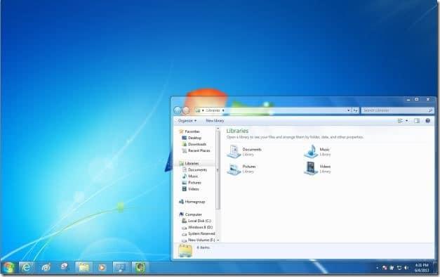 windows x menu for windows 7 and vista